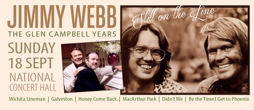 JIMMY WEBB – The Glen Campbell Years @ The National Concert Hall