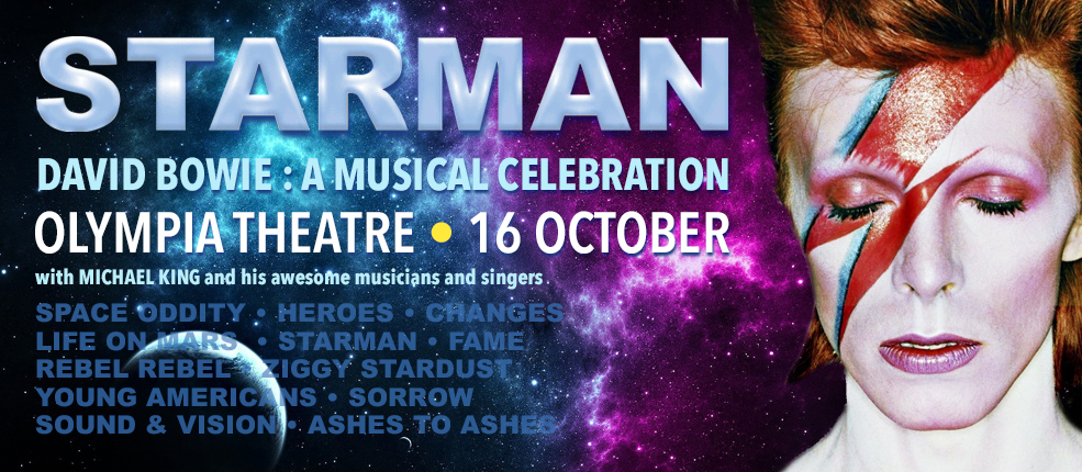 STARMAN | The David Bowie Story | Olympia Theatre