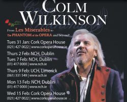 Colm Wilkinson Re-Scheduled Dates