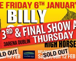 3rd & FINAL DATE ADDED TO BILLY CONNOLLY at 3Arena