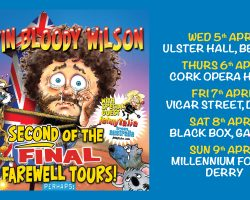 Kevin Bloody Wilson Ireland Tour April 2017