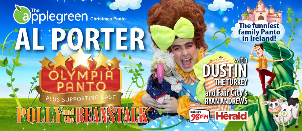 POLLY and the BEANSTALK SLIDER | Olympia Panto