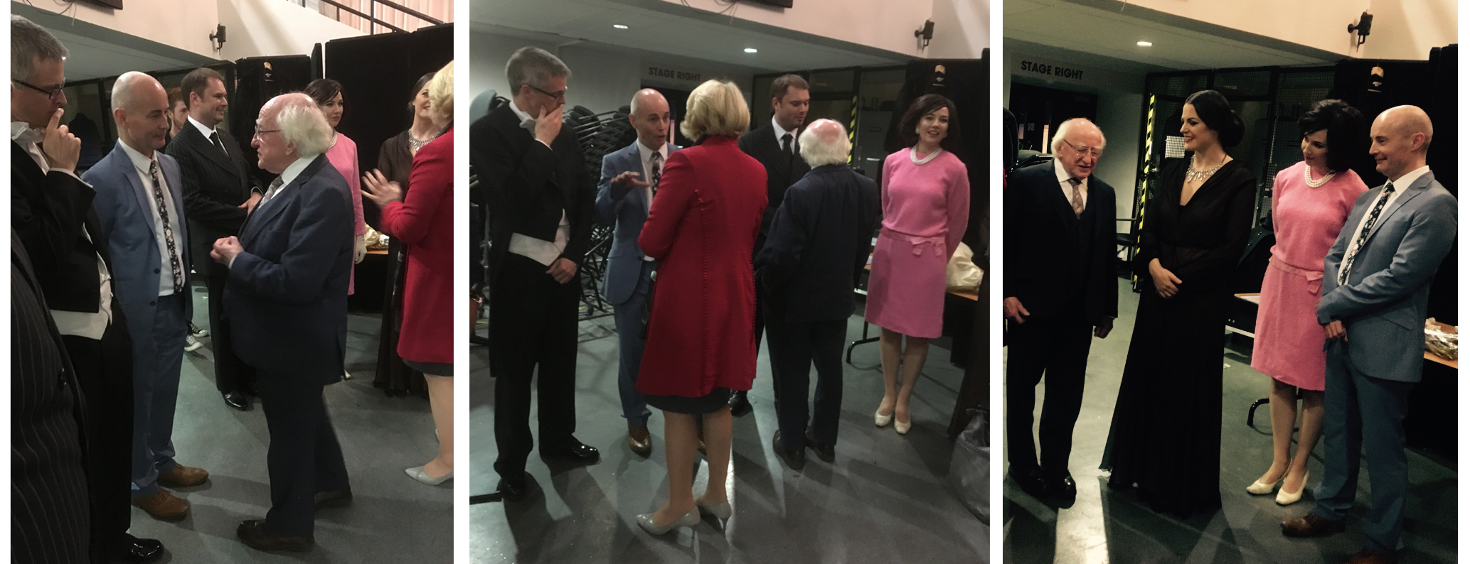 President Michael D Higgins attends Celebrating Callas at the National Concert Hall