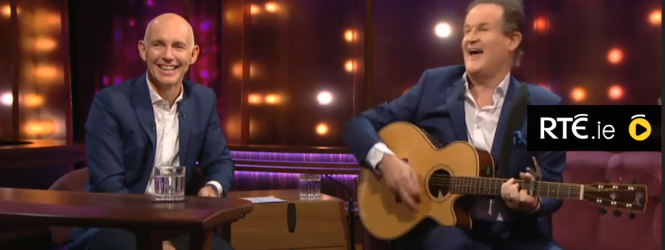 Watch Aonghus McAnally on the Ray D'Arcy Show