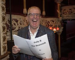 RORY COWAN will step into the role of POLLY at The Olympia Panto POLLY AND THE BEANSTALK