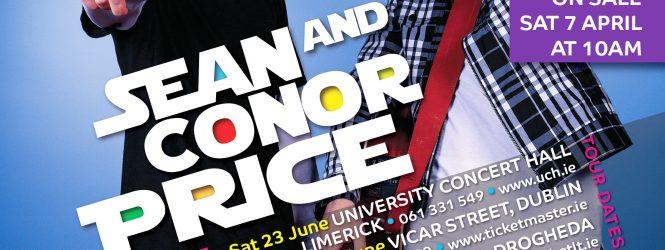 Sean + Conor Price Nationwide Tour