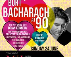 Celebrate the music of Burt Bacharach and Hal David at the National Concert Hall on Sunday 24 June