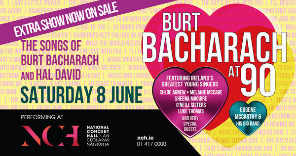 Burt Bacharach At 90 The Songs Of And Hal David Following Sold Out Concert In May 2018 Weve Added Extra