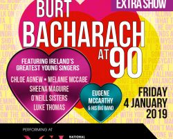 Extra Show Announced for Burt Bacharach at 90