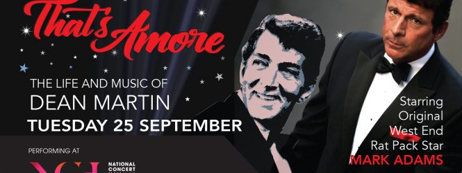 Mark Adams (Rat Pack) brings his new show 'That's Amore' to Dublin