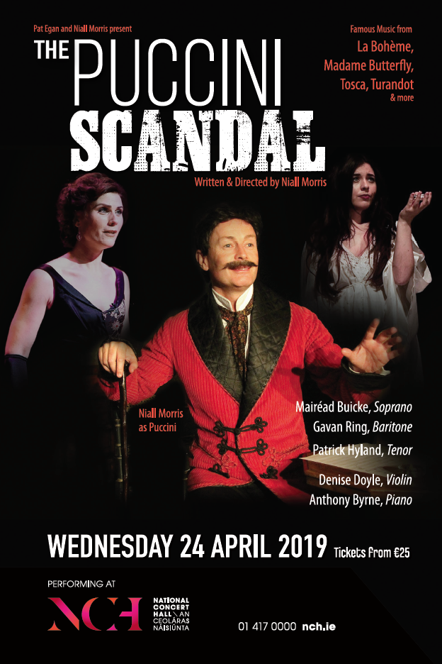 THE PUCCINI SCANDAL, NCH APRIL 2019