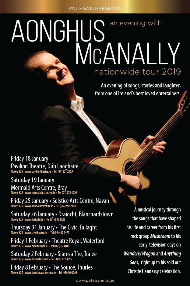 AONGHUS McANALLY IRISH TOUR January 2019