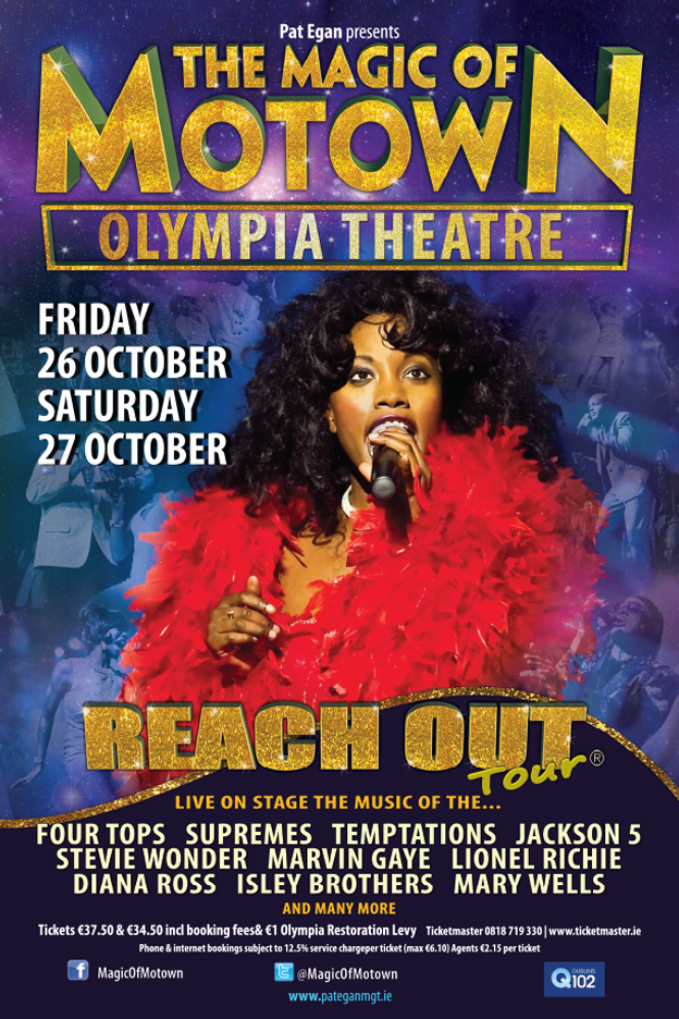 THE MAGIC OF MOTOWN Olympia Theatre OCTOBER 2018