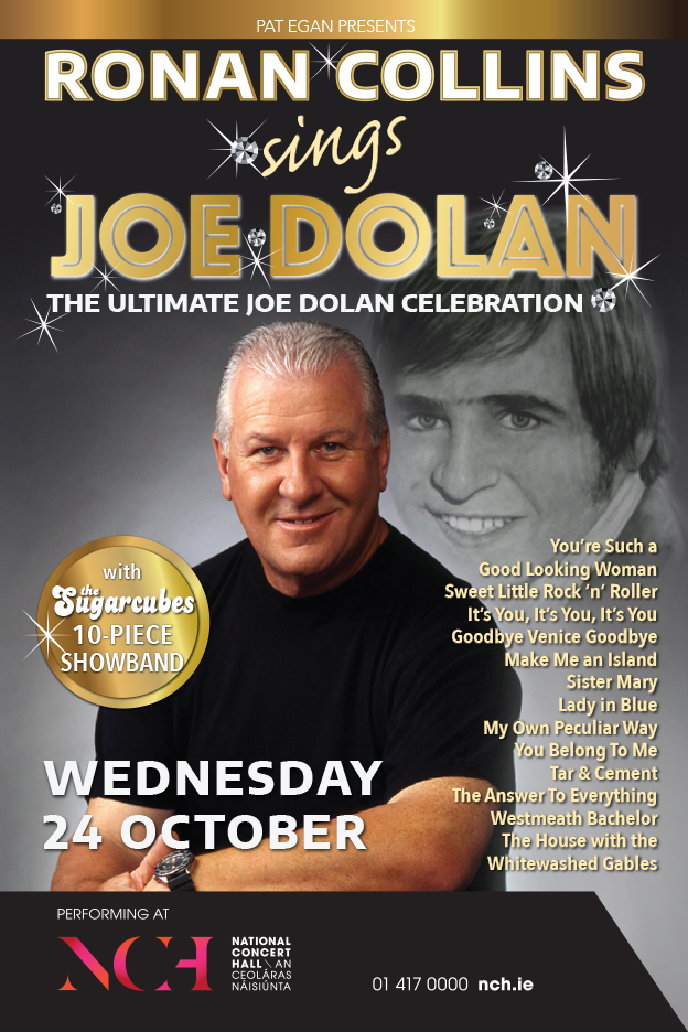 RONAN COLLINS SINGS JOE DOLAN, NCH, OCTOBER 2018