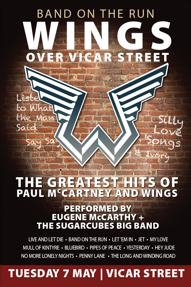 WINGS OVER VICAR STREET MAY 2019