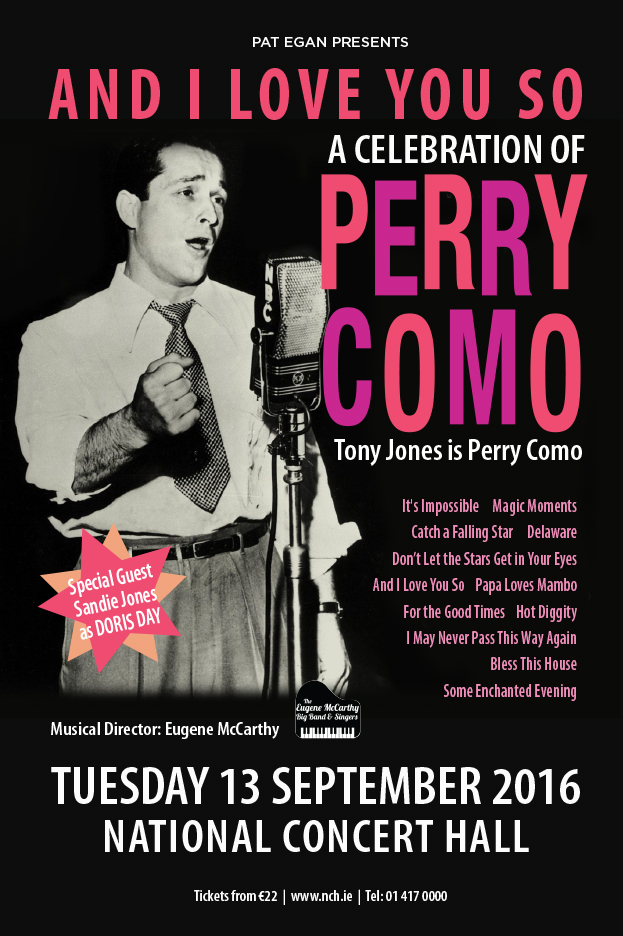 A CELEBRATION OF PERRY COMO SEPTEMEBR 2016
