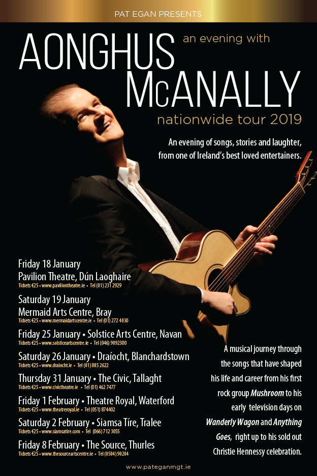 AONGHUS McANALLY IRISH TOUR January 2019