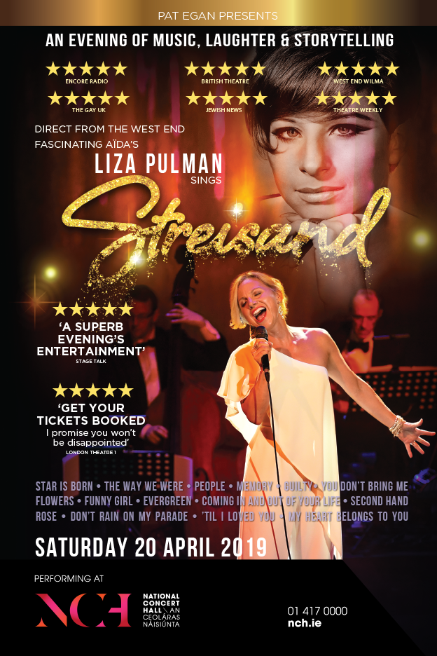 LIZA PULMAN SINGS STREISAND April 2019