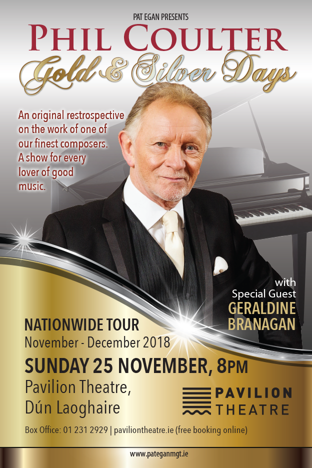 PHIL COULTER Gold & Silver Days Irish Tour 2018