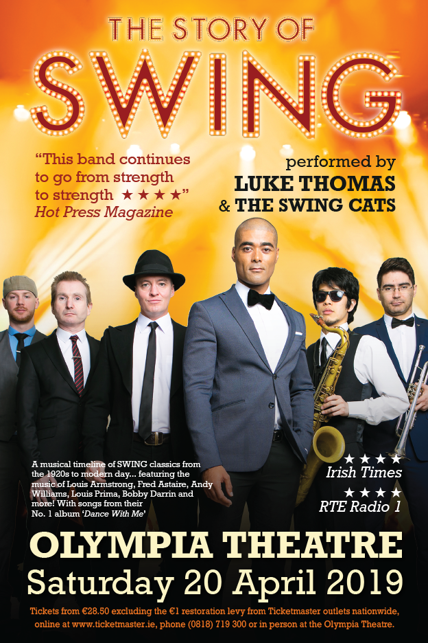 THE SWING CATS at the OLYMPIA THEATRE 20 APRIL 2019