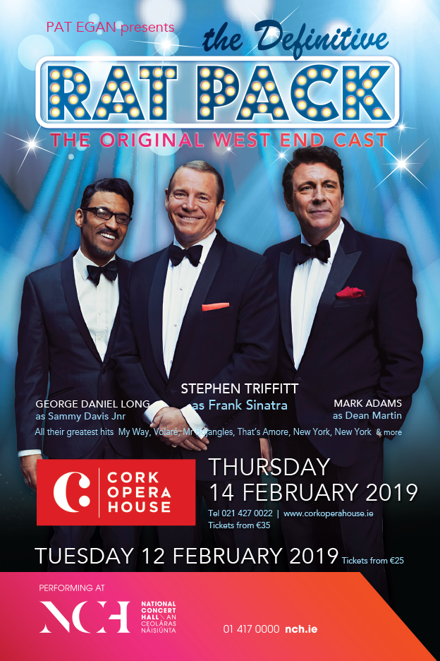 THE RAT PACK Cork + Dublin FEBRUARY 2019